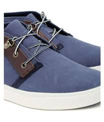 timberland men amherst desert blue casual shoes buy timberland
