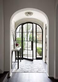 glass door with thick black steel frame doors pinterest