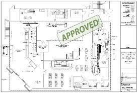Kitchen Floorplan Kitchen Mesmerizing Restaurant Open Kitchen Floor Plan Trendy