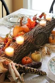 Log Centerpiece Ideas by Fall Seasoning Just Add A Sprinkle Of Faux Floral Blossoms To Our