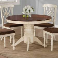 Dining Table Peachy Round Stunning Cream Kitchen Tables Home - Cream kitchen table