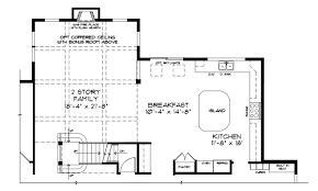 kitchen family room floor plans the darlington collection garnet valley new homes