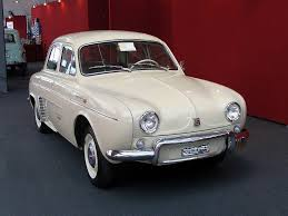 1960 renault dauphine car picker white renault dauphine