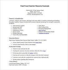 sample cashier resume efficiencyexperts us