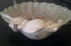 wedding ring holder shell ring holder wedding ring susy s seashell creations