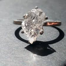 natural diamond rings images Raw diamond ring rough diamond ring natural diamond ring jpg