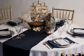 navy blue table linens blue and white table cloths best striped with blue and white table