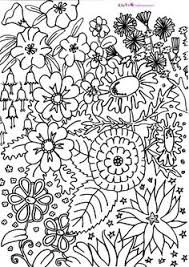 Hard Flower Coloring Pages - fantastic coloring pages color it pinterest peacocks