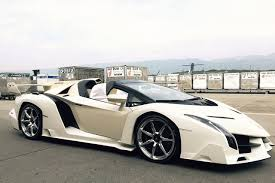 all white lamborghini white lamborghini veneno roadster spotted white veneno roadster 3