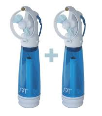 handheld fans sf 241wm personal held misting fan set of 2
