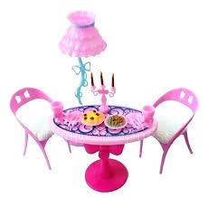 american doll dining table barbie doll furniture patterns barbie doll furniture 1 set vintage
