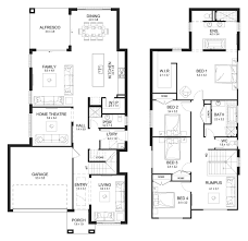 home builders house plans bronte 32 double level floorplan by kurmond homes new home