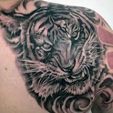 tigertattoo tattoo cancer and gemini tattoo together upper