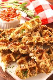 thanksgiving waffle cooking mozzarella stick waffles video u2014 mozzarella stick waffles