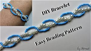 easy diy bracelet tutorials images Beaded bracelet easy beading tutorial diy bracelet simple beading jpg
