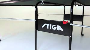 stiga advance table tennis table assembly advance table tennis table youtube