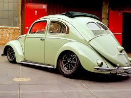 volkswagen beetle side view jesse james u0027 early split window
