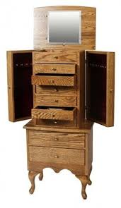 Armoire Drawers Solid Wood Jewelry Armoires Foter