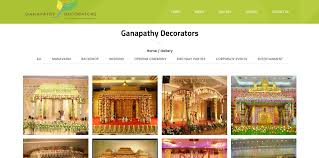 ganapathy decorators proplus logics software web design in