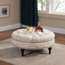furniture where you should install round ottoman coffee table