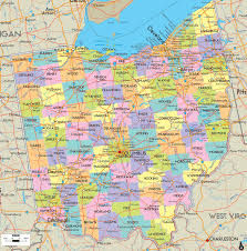 Road Maps Usa by Road Map Of Ohio