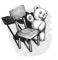 teddy bear chair sketch by pinupsbygib on deviantart