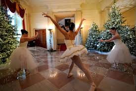 ballerinas kick off christmas at the white house nbc news