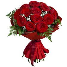 Red Rose Bouquet Send Flowers To India International Flower Delivery