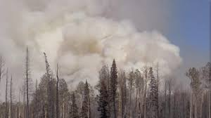 Wild Fire Brian Head Utah by Brian Head Fire Could Grow 6 000 Acres Wednesday
