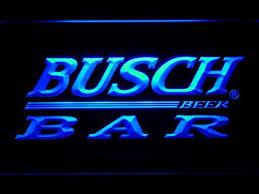 busch light neon sign busch bar led neon sign busch bar led neon sign 49 95