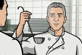 archer cartoon watch clips from u0027archer u0027 with anthony bourdain as the