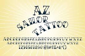 az sailor tattoo sailor tattoos and calligraphy alphabet