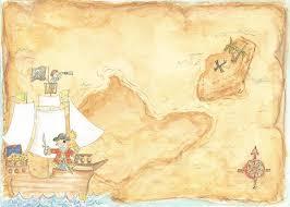 Blank Pirate Treasure Map by Treasure Map Invitation Templates Cloudinvitation Com