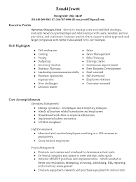 Sales Driven Resume Download Plant Manager Manufacturing Operations In Charlotte Nc