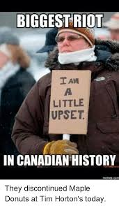 Tim Meme - biggest riot i am little upset in canadian history memes com they