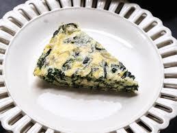 cuisine quiche crustless spinach quiche recipe phoebe lapine food wine