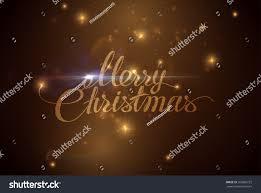 merry christmas holiday vector illustration shiny stock vector