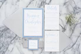 light blue wedding invitations shannon glitter wedding invitation all that glitters invitations