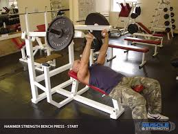 Machine Bench Press Vs Bench Press Hammer Strength Bench Press Video Exercise Guide U0026 Tips