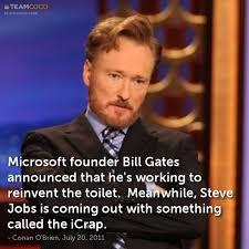 Bill Gates Steve Jobs Meme - joke microsoft founder bill gates announced that he s w
