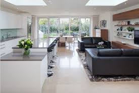 Open Plan Kitchen Diner Ideas Stunning Open Plan Kitchen And Living Area In London By Zona