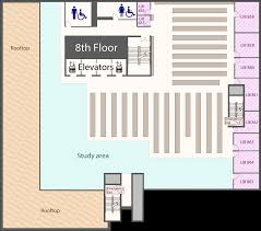 emergency exit floor plan template library locations ryerson university library u0026 archives
