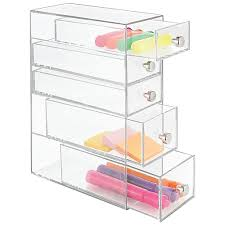 Craft Desk Organizer Clarity Great As A Pencil Box Desk Organizer Supplies