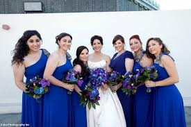 cobalt blue bridesmaid dresses bridesmaid dresses one shoulder maxi dress in cobalt blue