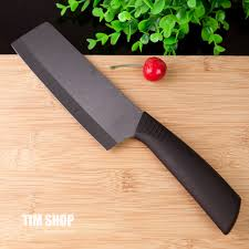 new arrival high quality ceramic knife black blade 6 inch cleaver