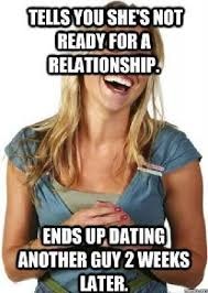 Relationship Funny Memes - not ready for a relationship