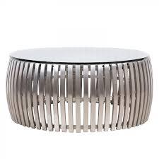Wohnzimmertisch Oval Couchtisch Liam Edelstahl Glas Fashion For Home