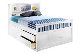 Full Size Bed Frame With Bookcase Headboard Bedding Modern High Platform With Drawers Black Also Full Size