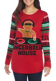sweater house derek gingerbread house dj sweater belk