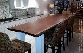 custom solid hardwood table tops live edge slabs